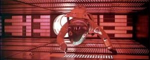 Grande film di Kubrick. Qui Dave è penetrato nel'interno di HAL 9000