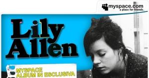 Lilly Allen su MySpace