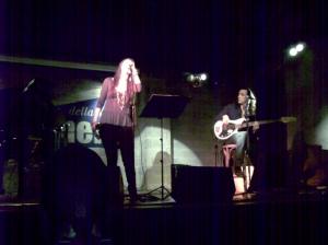 Irene Fornaciari alla Salumeria della musica